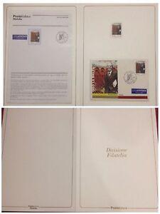 FOLDER-GRANDI-EVENTI-2003-UGO-LA-MALFA-ED-STAMPA-AUTORITA-039-DIVISIONE-FILATELIA