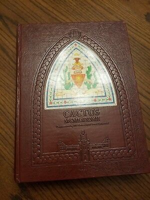 1983 UT University of Texas Cactus Annual Yearbook - Roger Clemens