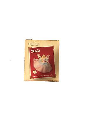 Hallmark Keepsake - Swan Lake Ornament Set - Barbie - 2003 **NEW / FREE SHIP**