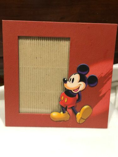 """Disney 4"""" x 6"""" Photo / Picture Frame w/ Mickey Mouse for 4x6"""" picture"""
