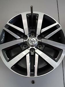 "Toyota Hilux SR5 18"" Alloy wheel set Booval Ipswich City Preview"