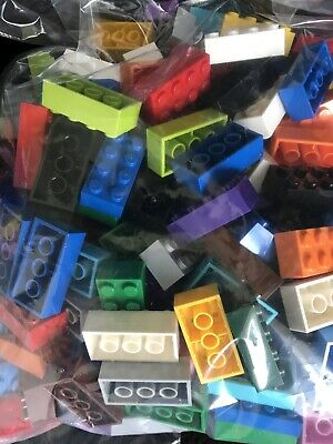 50 2X4 LEGO BRICKS  JOBLOT Genuine New Lego