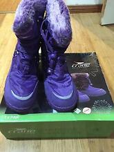 Girls Size 3 Snow Boots St Clair Penrith Area Preview