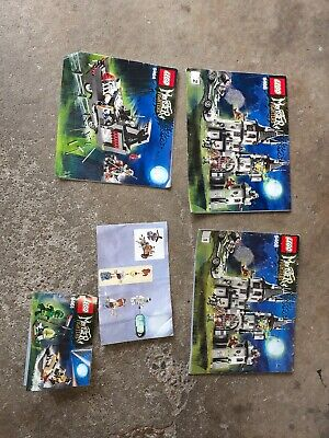 Lego monster fighters manuals lot