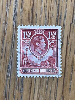 Northern Rhodesia 1938 1 1/2d - Used, fine