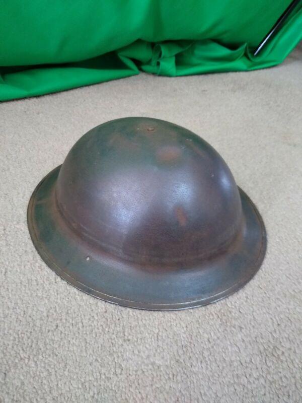 WW1 WORLD WAR 1 U.S. MILITARY DOUGHBOY HELMET 7th Infantry Division ?