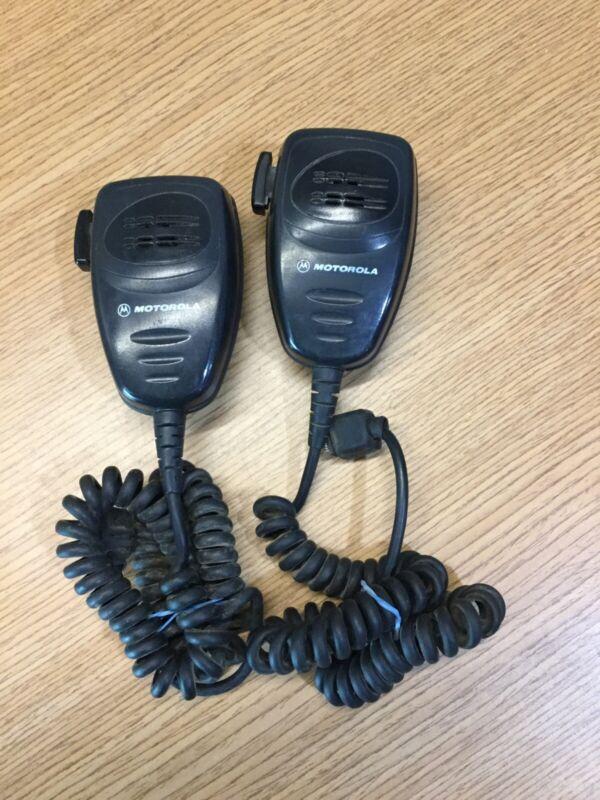 Motorola AARMN4025B Mic for Radius Maxtrac, GTX, M1225, CDM750, CDM1250 LOT OF 2