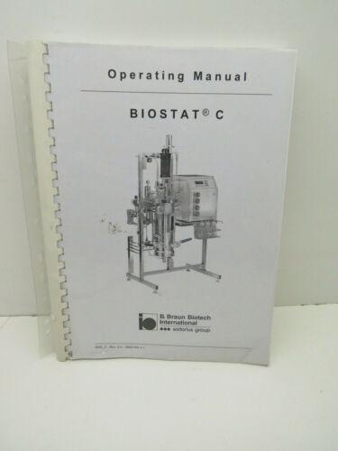 B. Braun Biotech International Biostat C Operating Manual BAE_C Rev2.4