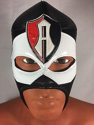 ATLAS!! WRESTLING-LUCHADOR MASK!Great Mask For Fans! ZORROS ROJINEGROS DEL ATLAS