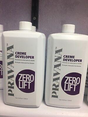 Pravana Creme Developers (zero lift ) Volume 33.8 fl oz) by -