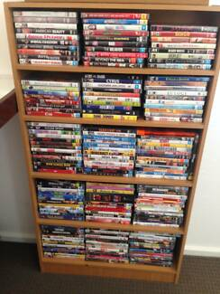 Entire DVD collection ( over 200 tv series and movies) with shelv Aranda Belconnen Area Preview