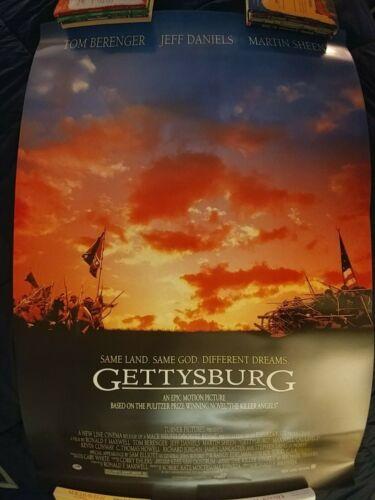 GETTYSBURG one-sided original rolled movie poster   27 X 40