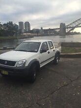 Holden Rodeo 2003 3.5L 4x4 Lavender Bay North Sydney Area Preview