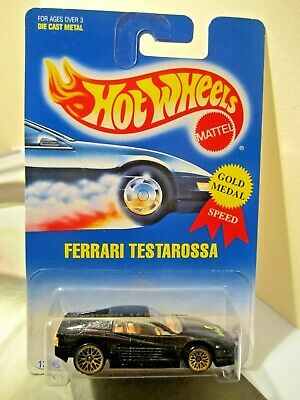 Hot Wheels 1:64 Scale Gold Medal Speed Collector Series  # 35 Ferrari Testarossa