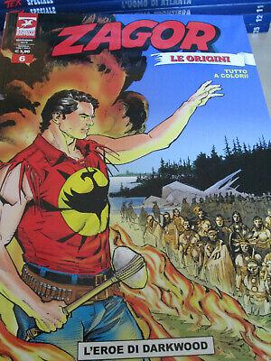Zagor Inedito a colori n. 6 - Le Origini - Sergio Bonelli Editore online kaufen