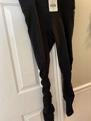 Fabletics Cashel Foldover Powerform Legging - Black - Size XL