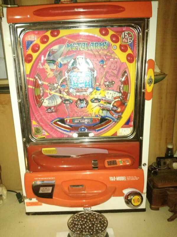 Pachinko Machine pinball - METAL WARRIOR- LCD