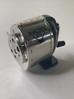 Ranger 1031 Wall Mount Manual Pencil Sharpener Silverblack Dual Helical Cutters