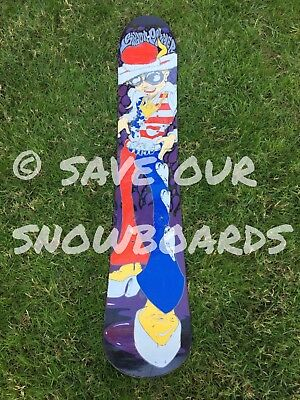 76612717907 Vintage Sims Shaun Palmer Snowboard FREE US SHIPPING