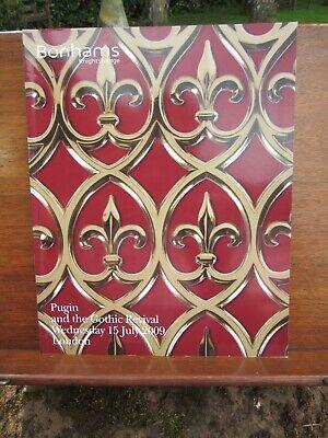 Pugin + the Gothic Revival Bonhams Auction Catalogue 15 July 09 Nr Mint 184 Lots