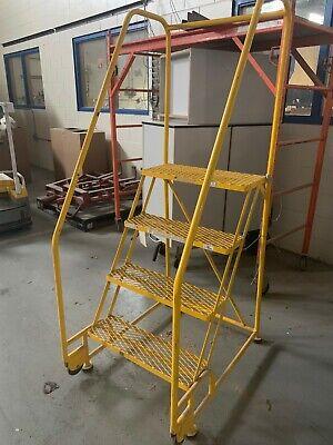 Cotterman Tilt And Roll Step Ladder