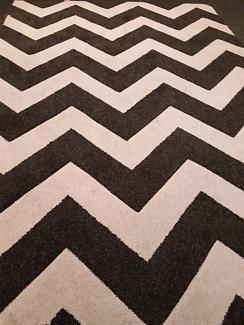 Beautiful chevron rug