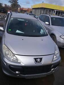 NOW WREAKING PEUGEOT 307HDI SILVER COLOR ALL PARTS 2005 Dandenong South Greater Dandenong Preview