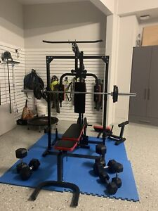 Power Rack Home Gym Package