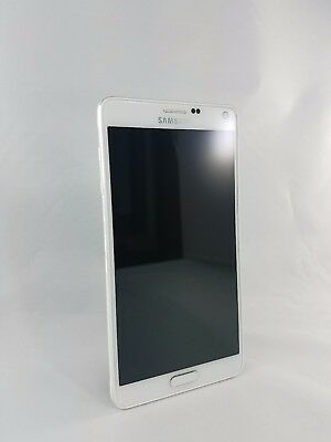 Samsung Galaxy Note 4 SM-N910A AT&T Unlocked 32GB 4G LTE Smartphone WHITE