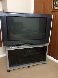 SONY TV and cabinet Berowra Heights Hornsby Area Preview