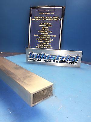 1 X 2 X 72-long X 18 Wall 6063 T52 Aluminum Rectangle Tube--1 X 2 X .125