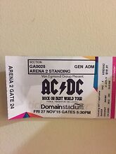 ACDC tickets x2 27th November Lesmurdie Kalamunda Area Preview