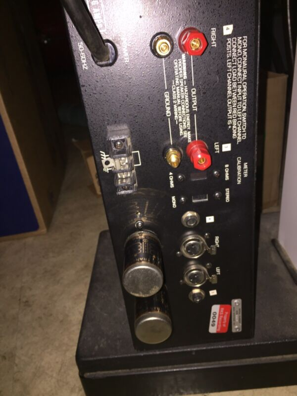 BGW Professional Power Amplifier 250D With Bridging Input Transformers.