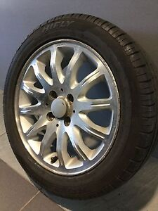 """AUSCAR 15"""" ALLOY WHEELS AND TYRES COROLLA ECHO YARIS CIVIC LANCER SSS Carramar Fairfield Area Preview"""