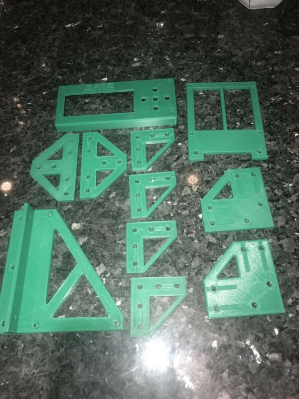 Anet A8 to AM8 Conversion Kit Metal Frame Parts ABS /& PETG