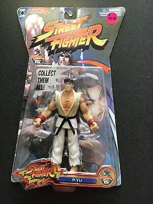 Street Fighter 15th Anniversary Ryu, Capcom Jazwares Inc Action Figure for sale  Shipping to India