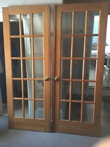 French oak doors