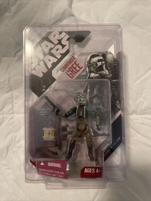 NEW Star Wars Commander Gree #03 Revenge Of The Sith 87543/87500 Hasbro 2007 NIB