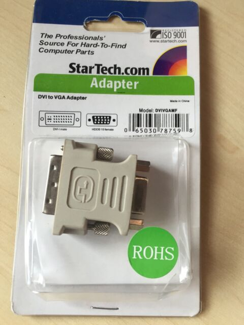 StarTech (DVIVGAMF) DVI to VGA M/F Adapter NEW