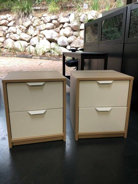 Two Draw Bedroom Tables As New Bedside Tables