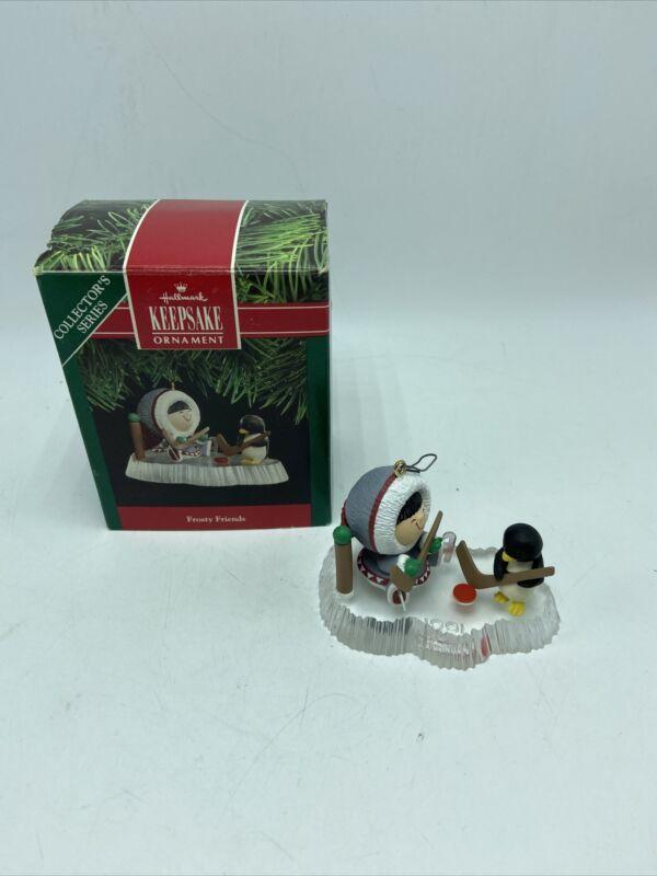 Hallmark Keepsake Ornament Frosty Friends Collector