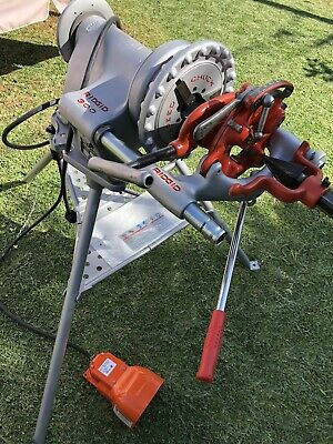 Ridgid 300 Power Head Threader Wcarriagecutterdie Headreamer