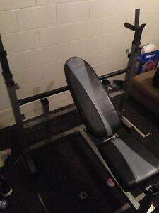 Bench press and weights Leumeah Campbelltown Area Preview