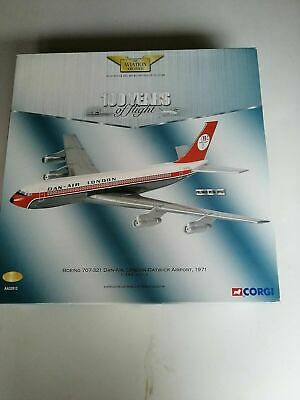 "CORGI DIECAST 1:144 SCALE AVIATION ARCHIVE "" BOEING 707-321 DAN-AIR "" 32912"