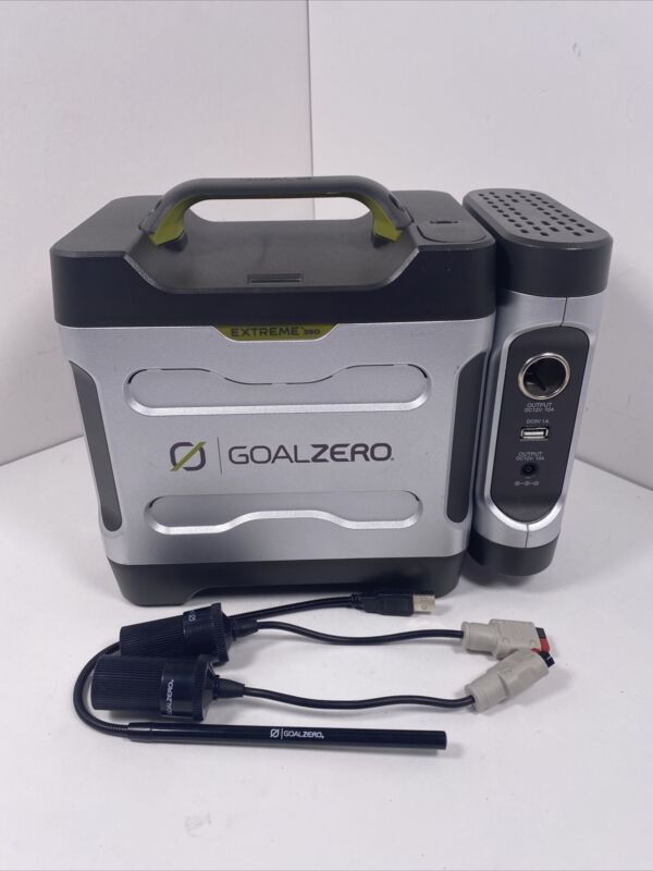 Goal Zero Extreme 350 Power Pack with Universal Inverter - For Parts! No Power!