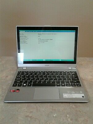 Acer Aspire v5-122p-0889 AMD A4-1250 1GHz 4GB PC3L-12800S Touchscreen Win8 No HD