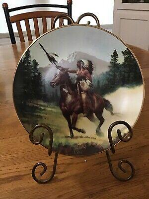 """Victory's Reward  ""  Hamilton Plate Collection"