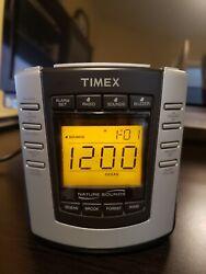 Timex Nature Sounds T300B Digital Tuning Alarm Clock AM FM Radio T300B A034