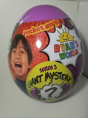 RYAN'S WORLD SERIES 3 GIANT PURPLE MYSTERY EGG!