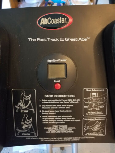 AbCoaster PS500 Ultimate Core Workout Exercise Machine